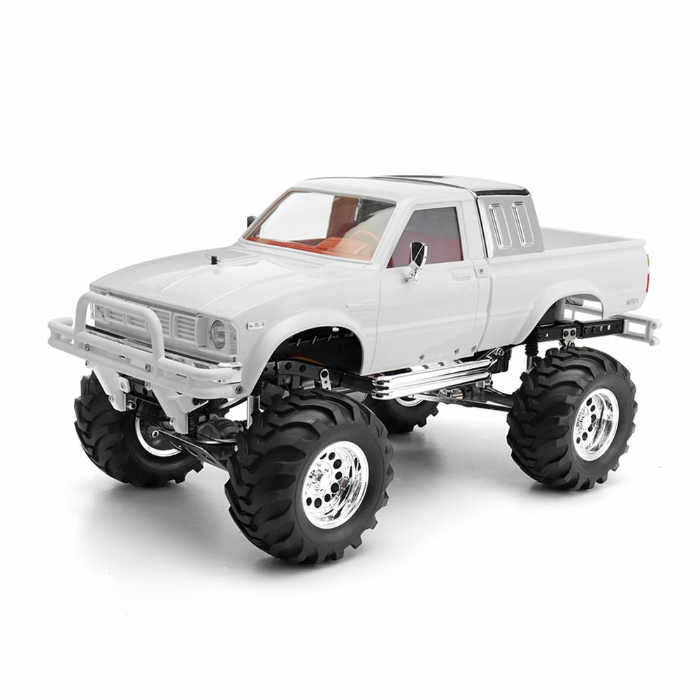 rc-cars HG P407 1/10 2.4G 4WD Rally Rc Car for TOYATO Metal 4X4 Pickup Truck Rock Crawler RTR Toy RC1307753 1