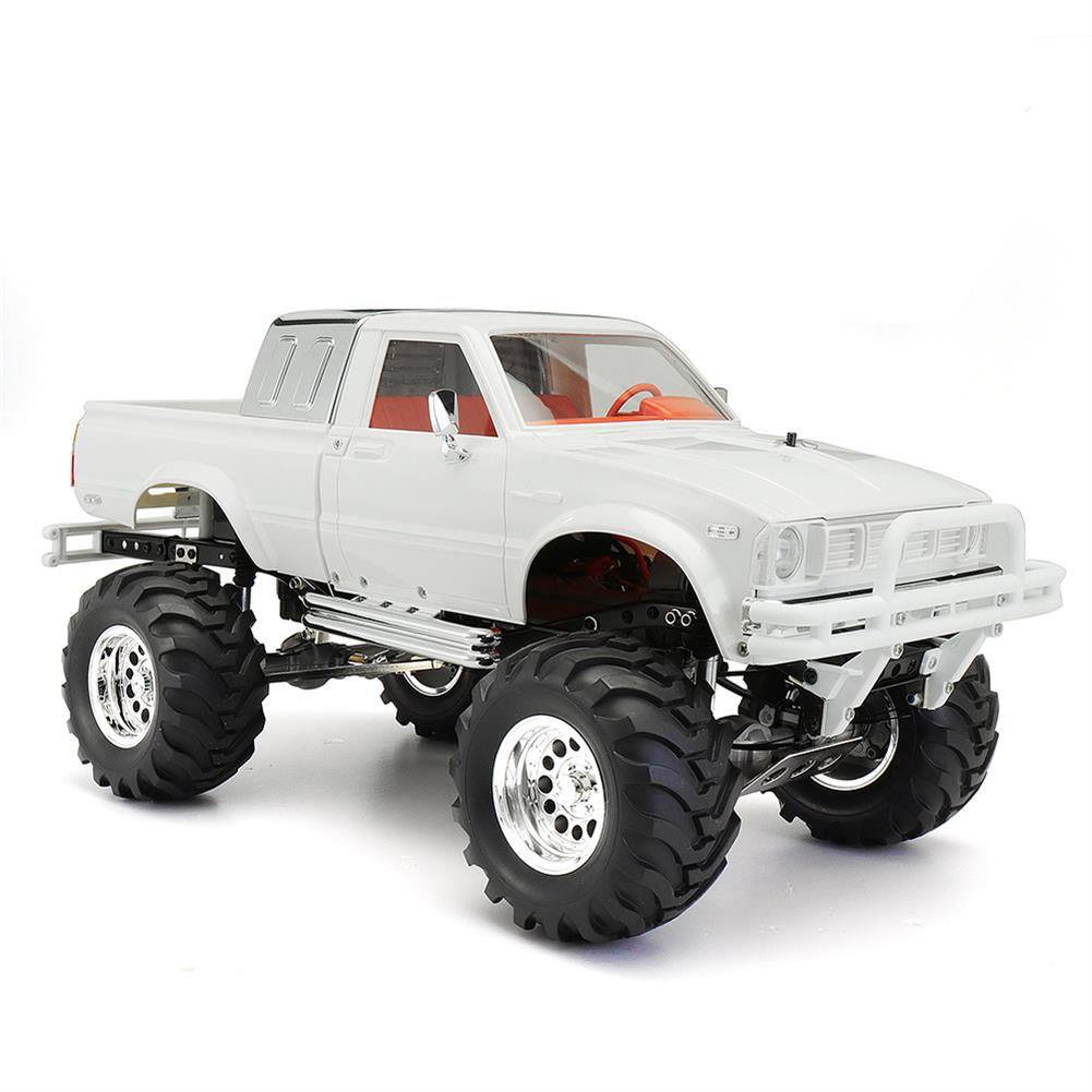 rc-cars HG P407 1/10 2.4G 4WD Rally Rc Car for TOYATO Metal 4X4 Pickup Truck Rock Crawler RTR Toy RC1307753 2