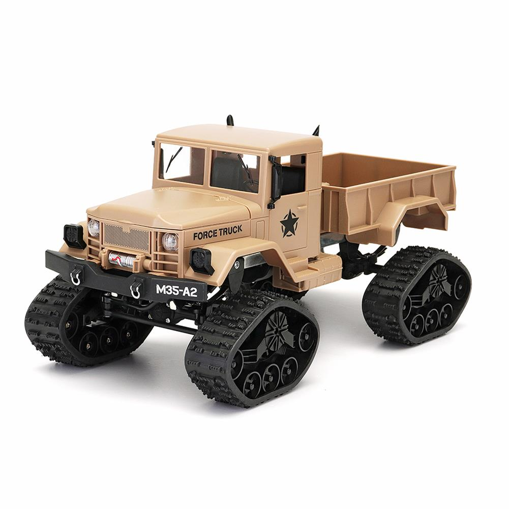 rc-cars Fayee FY001B 1/16 2.4G 4WD Rc Car Brushed Off-road Truck Snow Tires With Front Light RTR Toy RC1309374