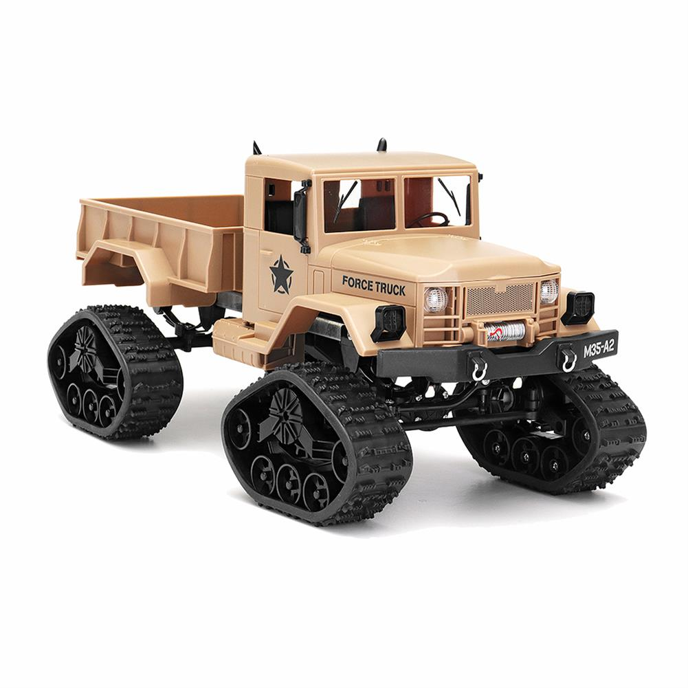 rc-cars Fayee FY001B 1/16 2.4G 4WD Rc Car Brushed Off-road Truck Snow Tires With Front Light RTR Toy RC1309374 1