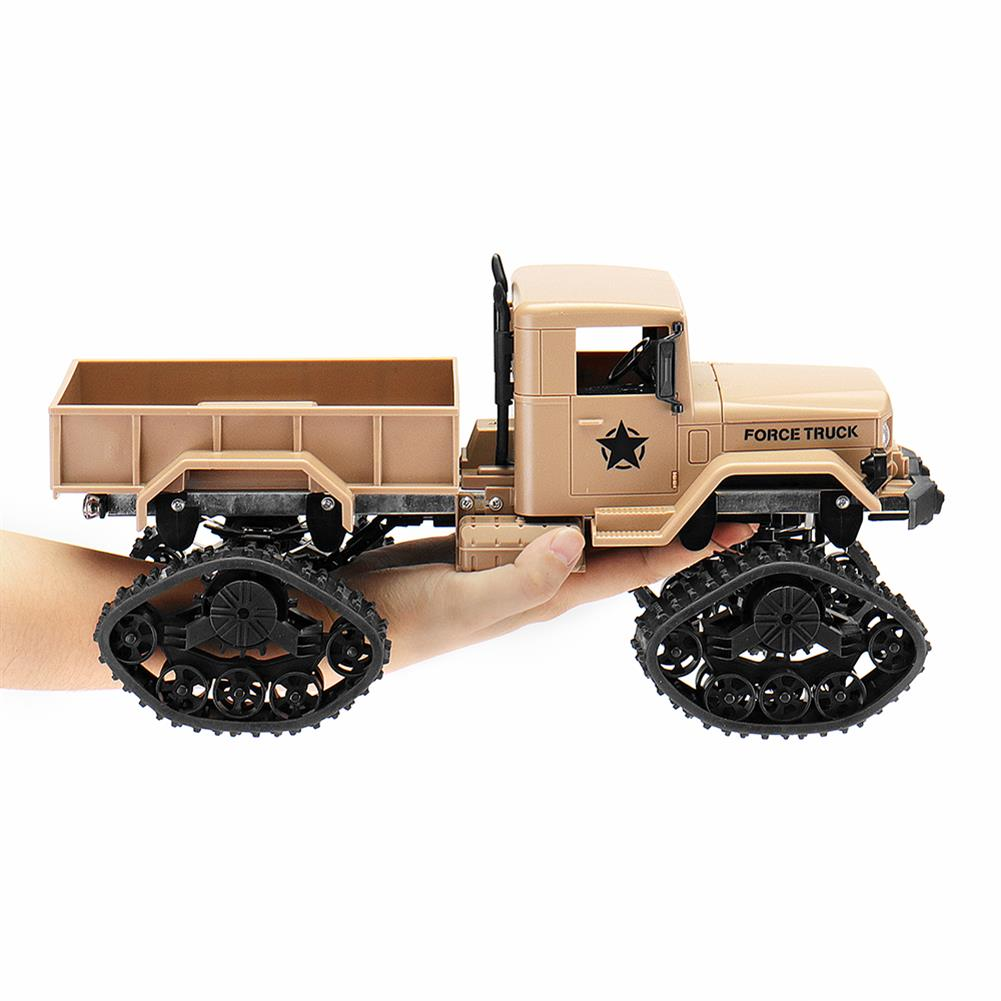 rc-cars Fayee FY001B 1/16 2.4G 4WD Rc Car Brushed Off-road Truck Snow Tires With Front Light RTR Toy RC1309374 4