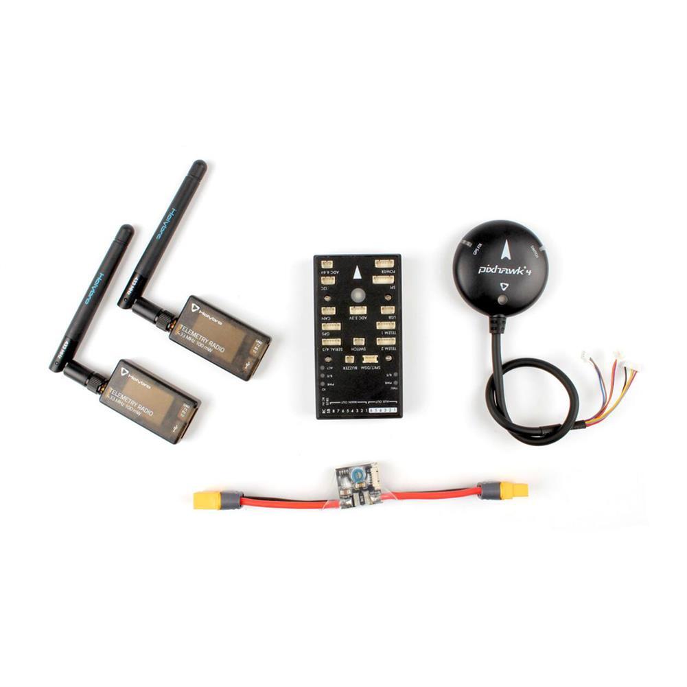 multi-rotor-parts Holybro PIX32 Pixhawk PX4 2.4.6 Flight Controller M8N GPS PM Power Module 433/915Mhz Radio Telemetry RC1310399