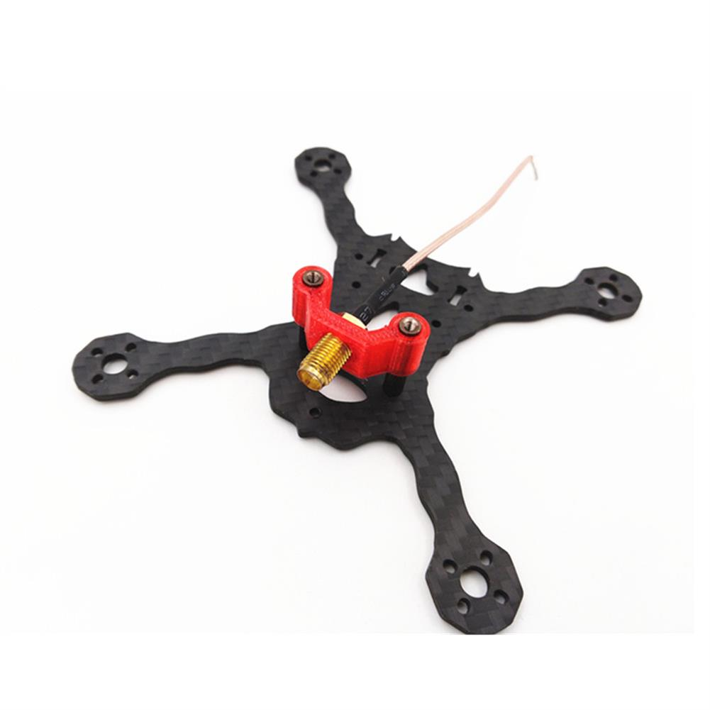fpv-accessories Realacc TPU SMA Mount/RX Antenna Fixing Seat for 20mm Spaced Frames Red/Blue RC1318060