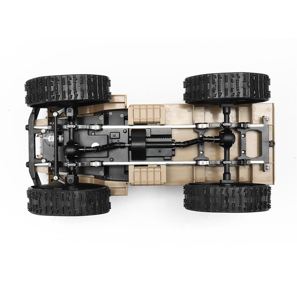rc-cars Fayee FY001 1/16 2.4G 4WD Rc Car 720P 0.3MP WIFI FPV Brushed Off-road Military Truck W/ LED Light RC1318249 5