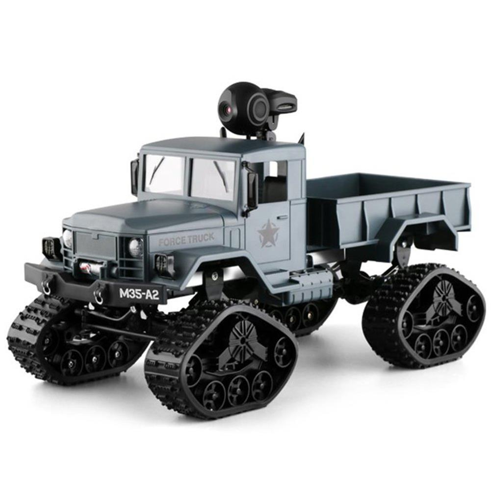 rc-cars Fayee FY001 1/16 2.4G 4WD Rc Car 720P 0.3MP WIFI FPV Brushed Off-road Military Truck W/ LED Light RC1318249 7