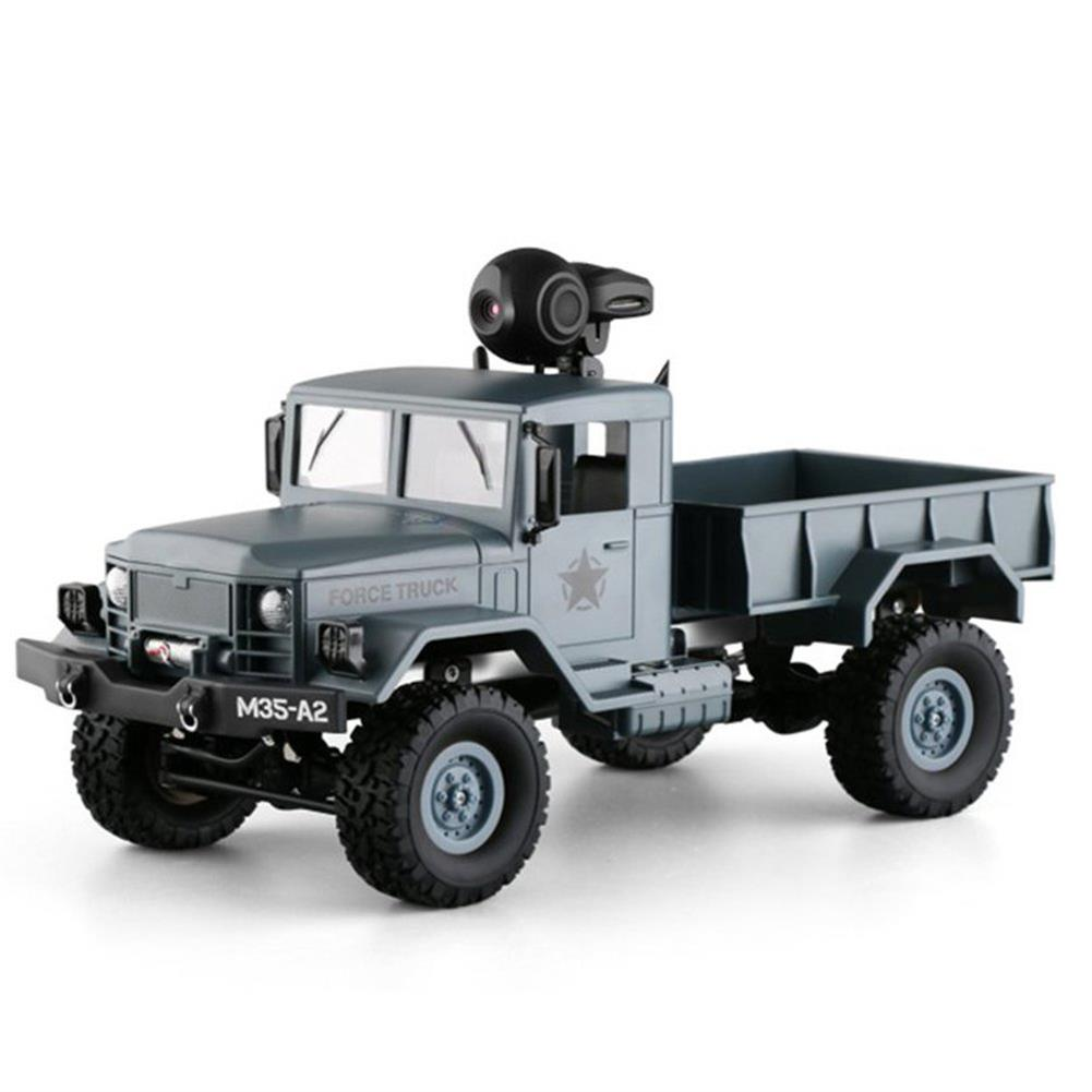 rc-cars Fayee FY001 1/16 2.4G 4WD Rc Car 720P 0.3MP WIFI FPV Brushed Off-road Military Truck W/ LED Light RC1318249 8