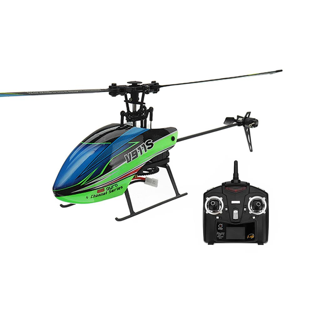 rc-helicopter WLtoys V911S 2.4G 4CH 6-Aixs Gyro Flybarless RC Helicopter RTF RC1318778
