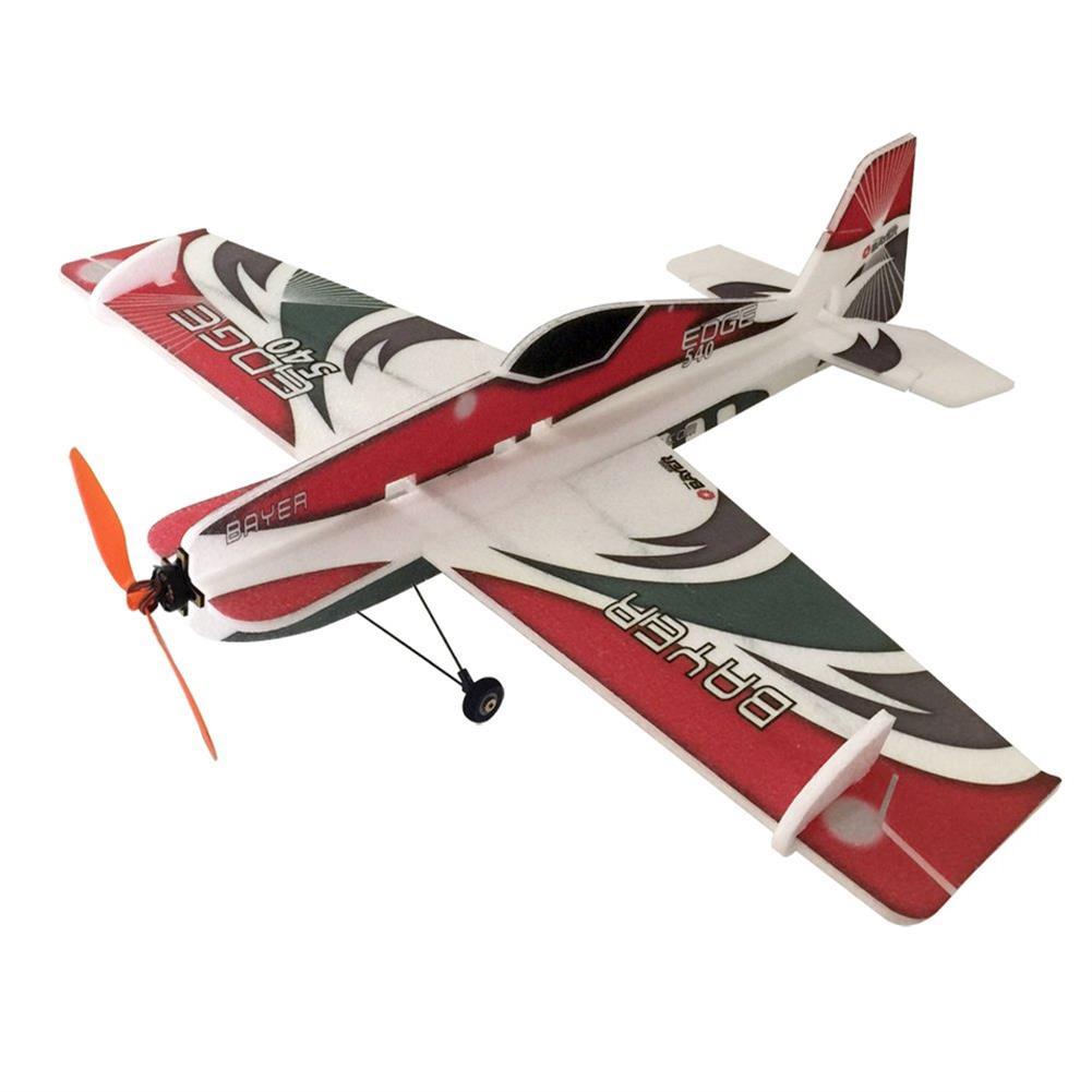 rc-airplane Bayer Model Edge 540 800mm Wingspan EPP 3D Aerobatic RC Airplane KIT With Landing Gear RC1320282