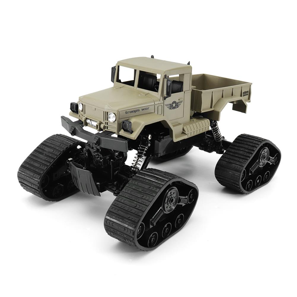 rc-cars ZEGAN ZGC1231WS 1/12 2.4G 4WD 40CM Rc Car Troops War Snow Beach Monster Desert Truck RTR Toys RC1320776