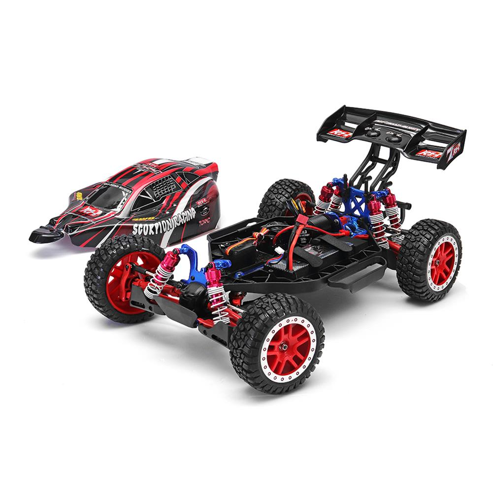 rc-cars Remo 8055 1/8 2.4G 4WD Brushless 60KM/h Rc Car Scorpion Racing Off-road Buggy Truck RTR Toy RC1321967 1