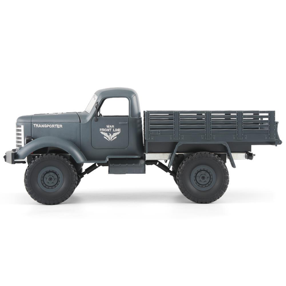 rc-cars JJRC Q61 1/16 2.4G 4WD Off-Road Military Truck Crawler RC Car RC1323395 3