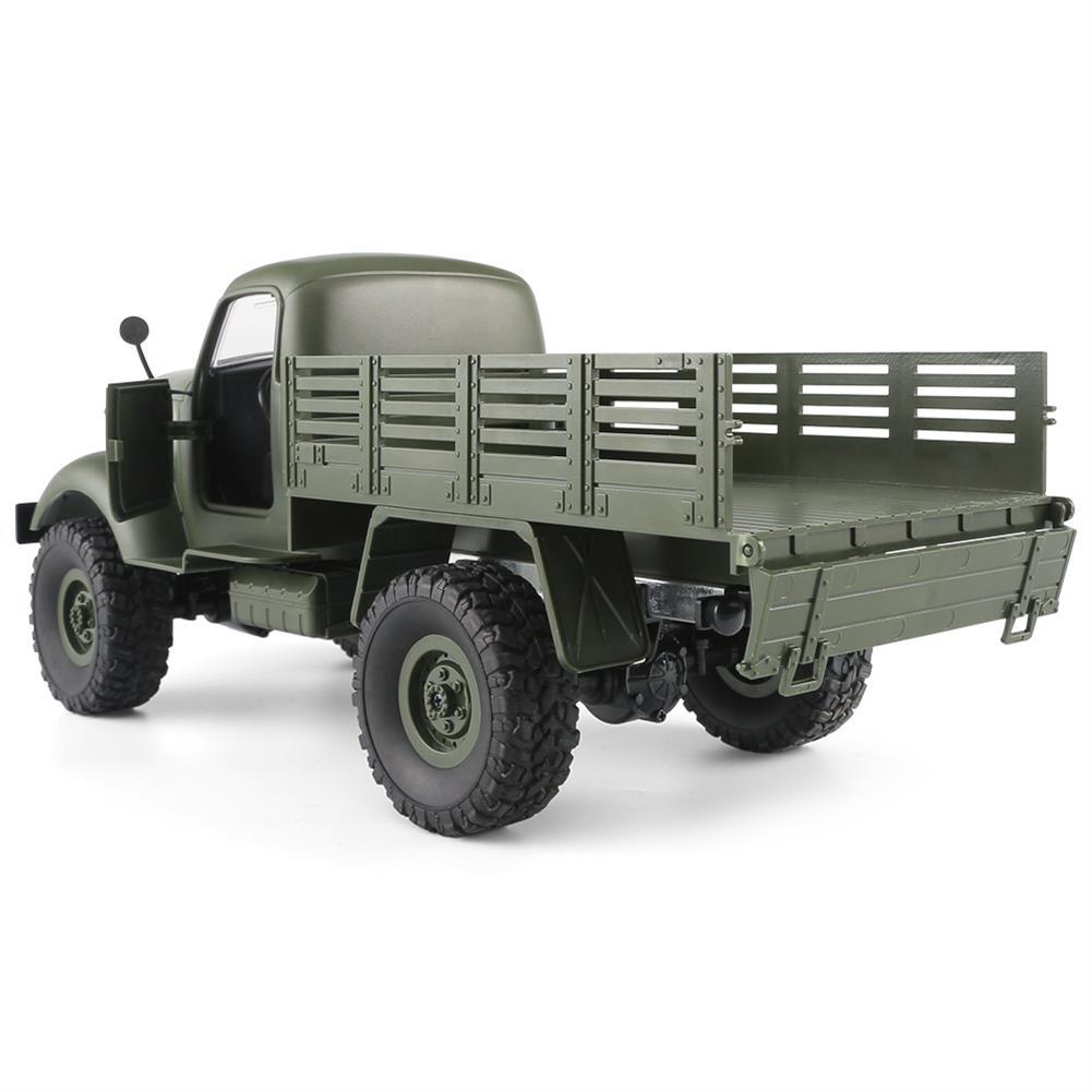 rc-cars JJRC Q61 1/16 2.4G 4WD Off-Road Military Truck Crawler RC Car RC1323395 5