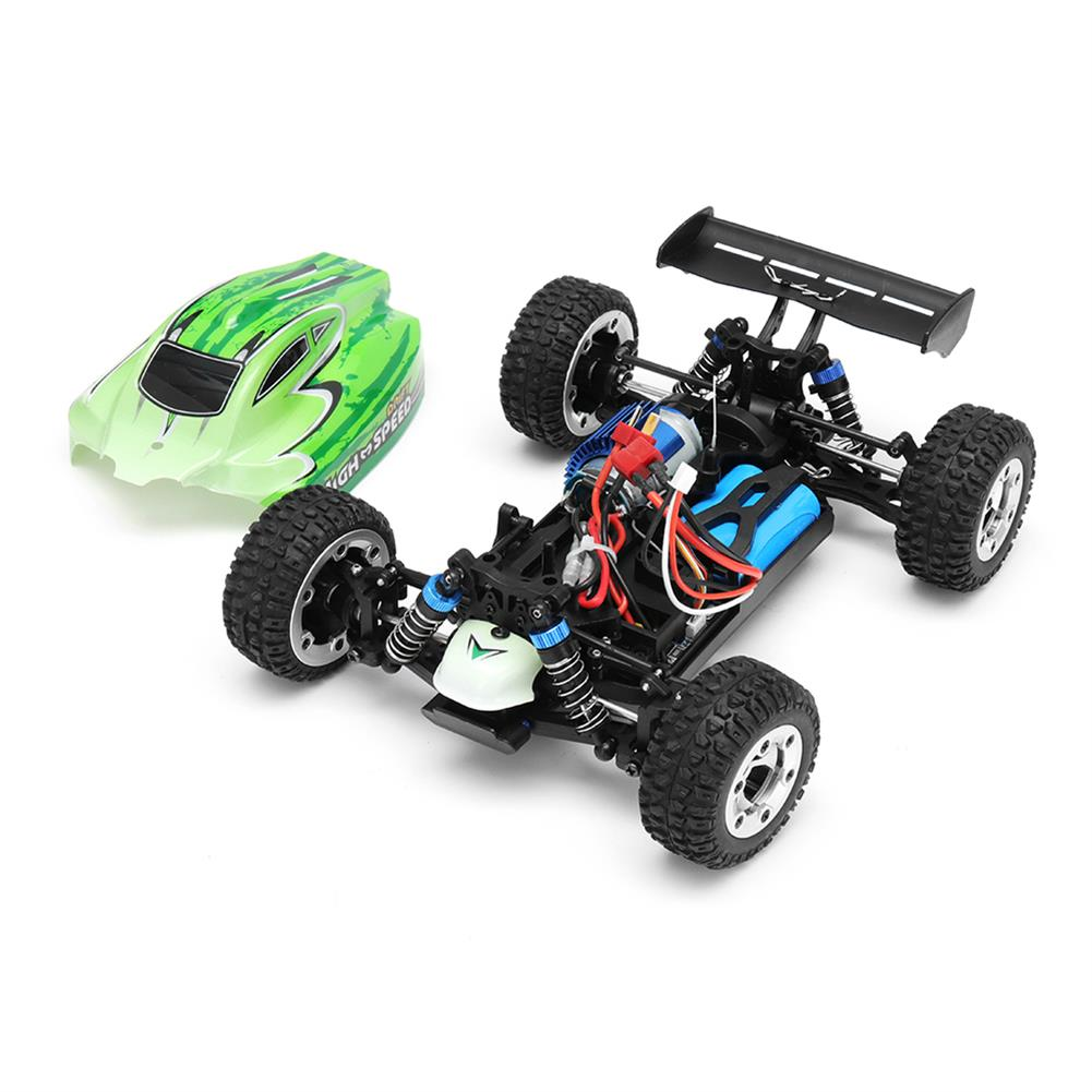 rc-cars MZ GS1004 1/18 2.4G 4WD 390 Brushed Rc Car 55km/h High Speed Drift Buggy Off-road Truck RTR Toy RC1325601 1