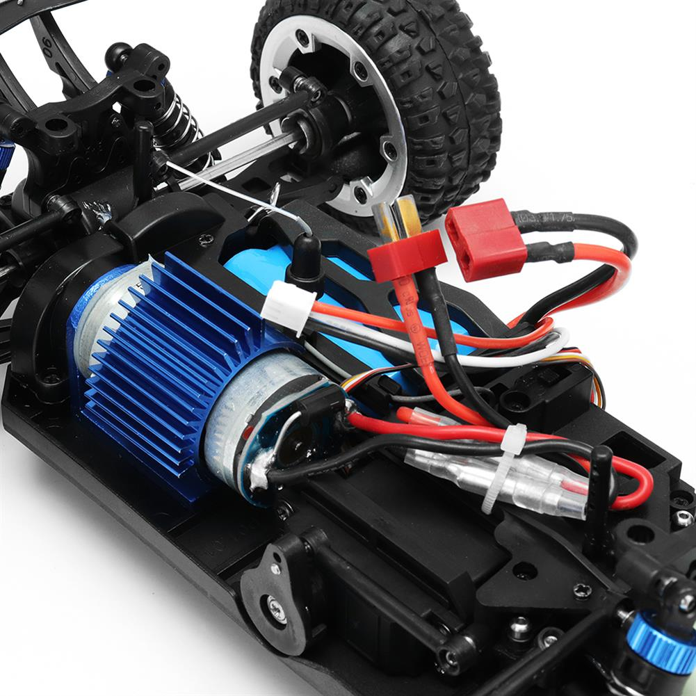 rc-cars MZ GS1004 1/18 2.4G 4WD 390 Brushed Rc Car 55km/h High Speed Drift Buggy Off-road Truck RTR Toy RC1325601 9