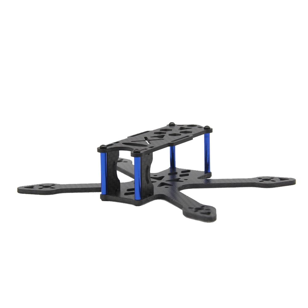 multi-rotor-parts GP120 120mm Micro FPV Racing Frame Kit Carbon Fiber Supports Runcam Micro Swift 2 2540 Propellers RC1325632 1