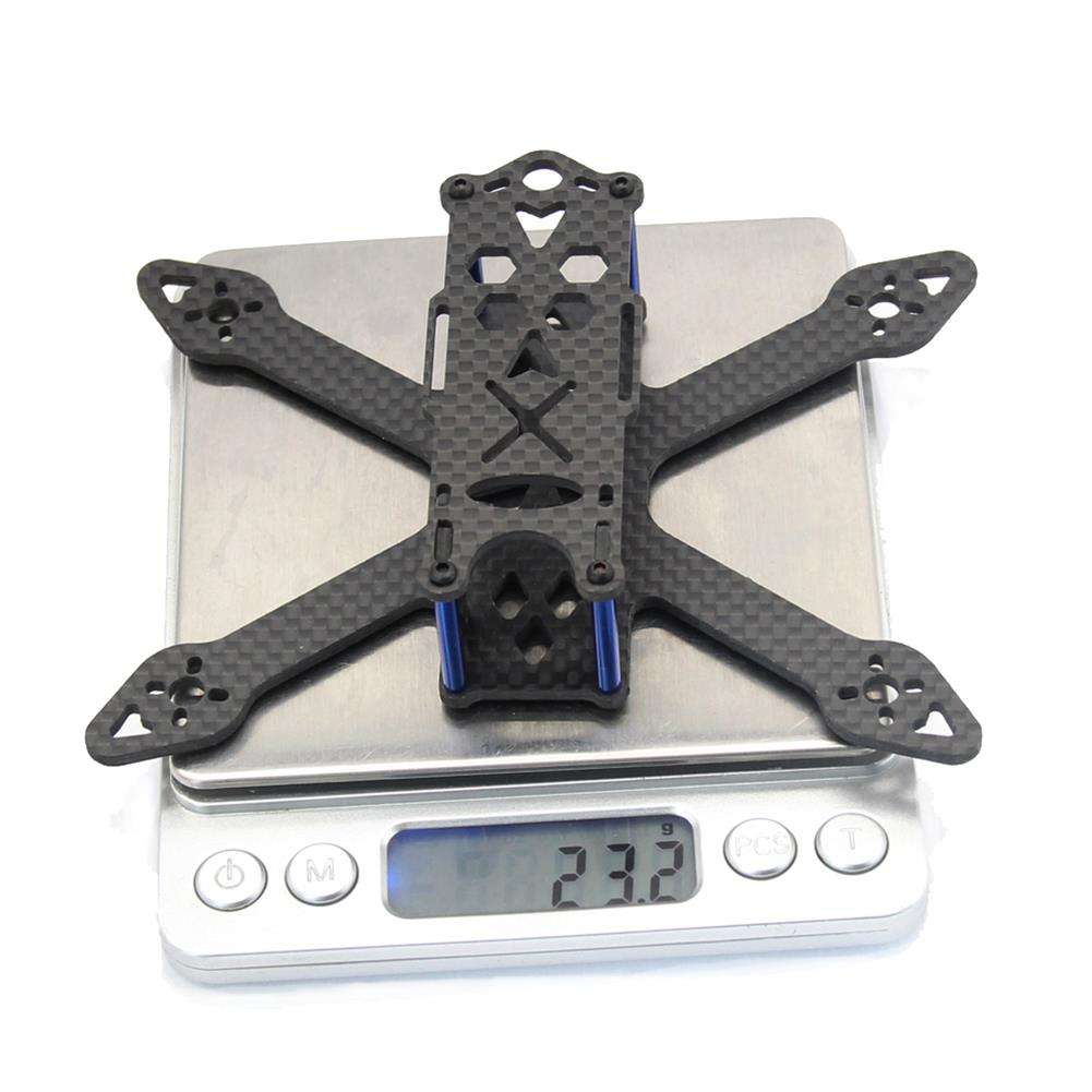 multi-rotor-parts GP120 120mm Micro FPV Racing Frame Kit Carbon Fiber Supports Runcam Micro Swift 2 2540 Propellers RC1325632 4