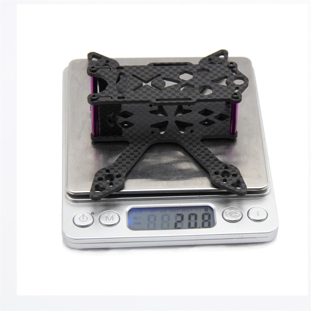 multi-rotor-parts GP100 100mm Micro FPV Racing Frame Kit Carbon Fiber Supports Runcam Micro Swift 2 Camera RC1326232 6