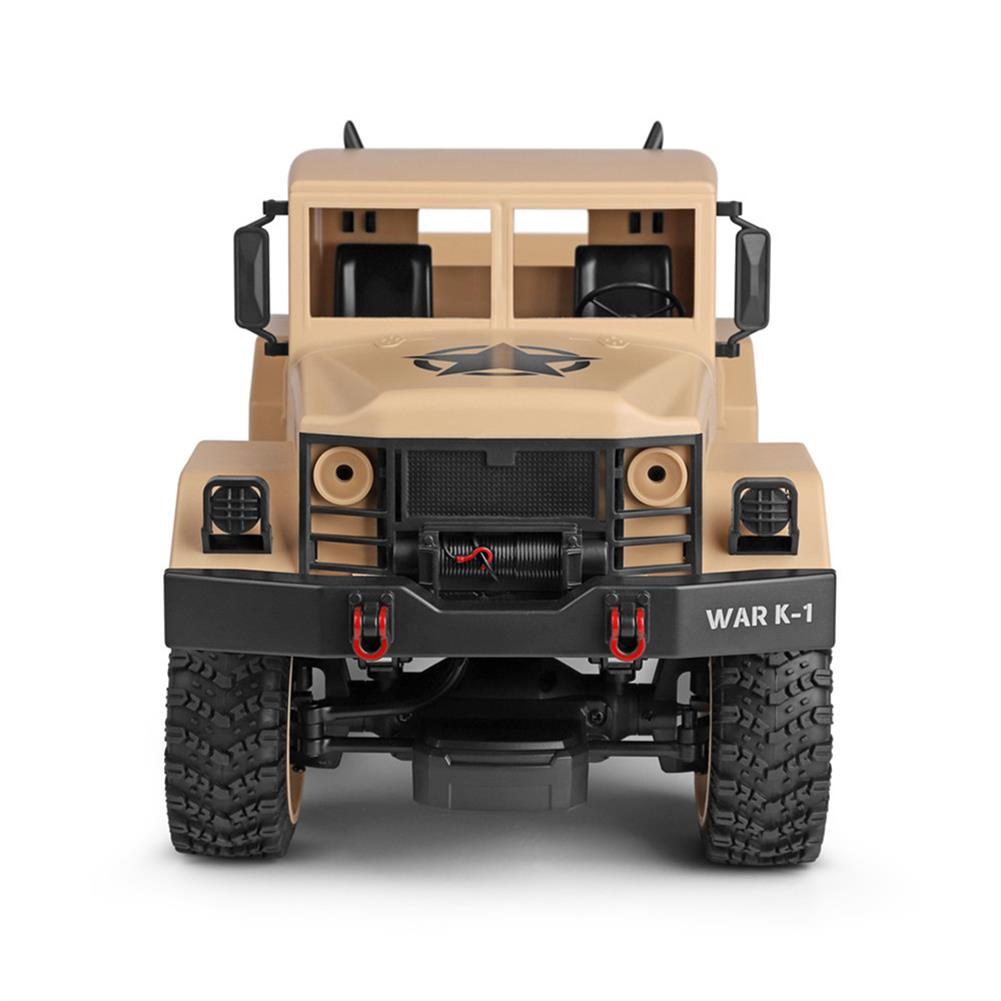 rc-cars Wltoys 124301 1/12 2.4G 4WD 45cm 390 Bruhed Rc Car 1.2kg Load Off-road Military Truck RTR Toy RC1326489 4