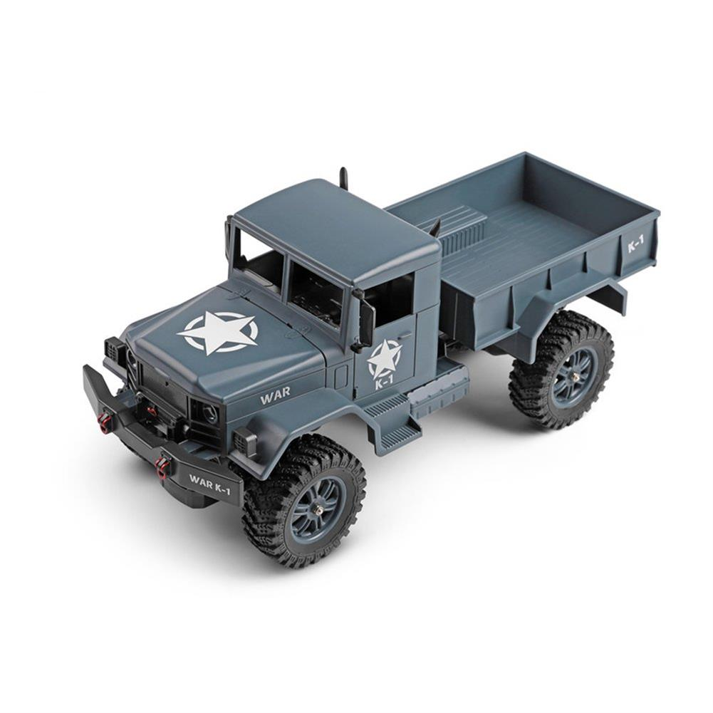 rc-cars Wltoys 124301 1/12 2.4G 4WD 45cm 390 Bruhed Rc Car 1.2kg Load Off-road Military Truck RTR Toy RC1326489 9