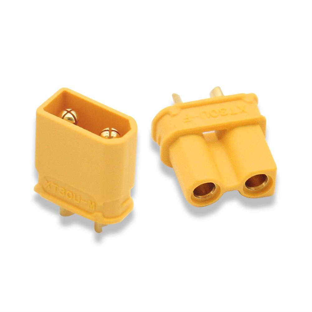 connector-cable-wire PC Part XT30-U XT30 Connector Female Male Bullet Plug for RC Toys Lipo Battery RC1331415