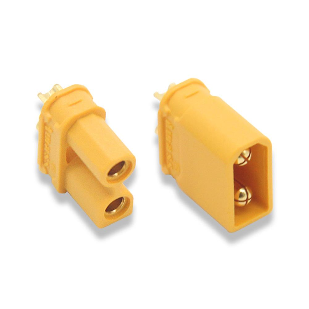 connector-cable-wire PC Part XT30-U XT30 Connector Female Male Bullet Plug for RC Toys Lipo Battery RC1331415 3