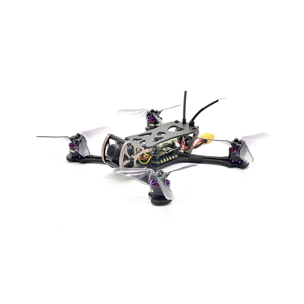 fpv-racing-drones LISAMRC LS-X140 140mm RC FPV Racing Drone F4 OSD BLHeli_S 28A Mini CCD 650TVL PNP BNF RC1331471