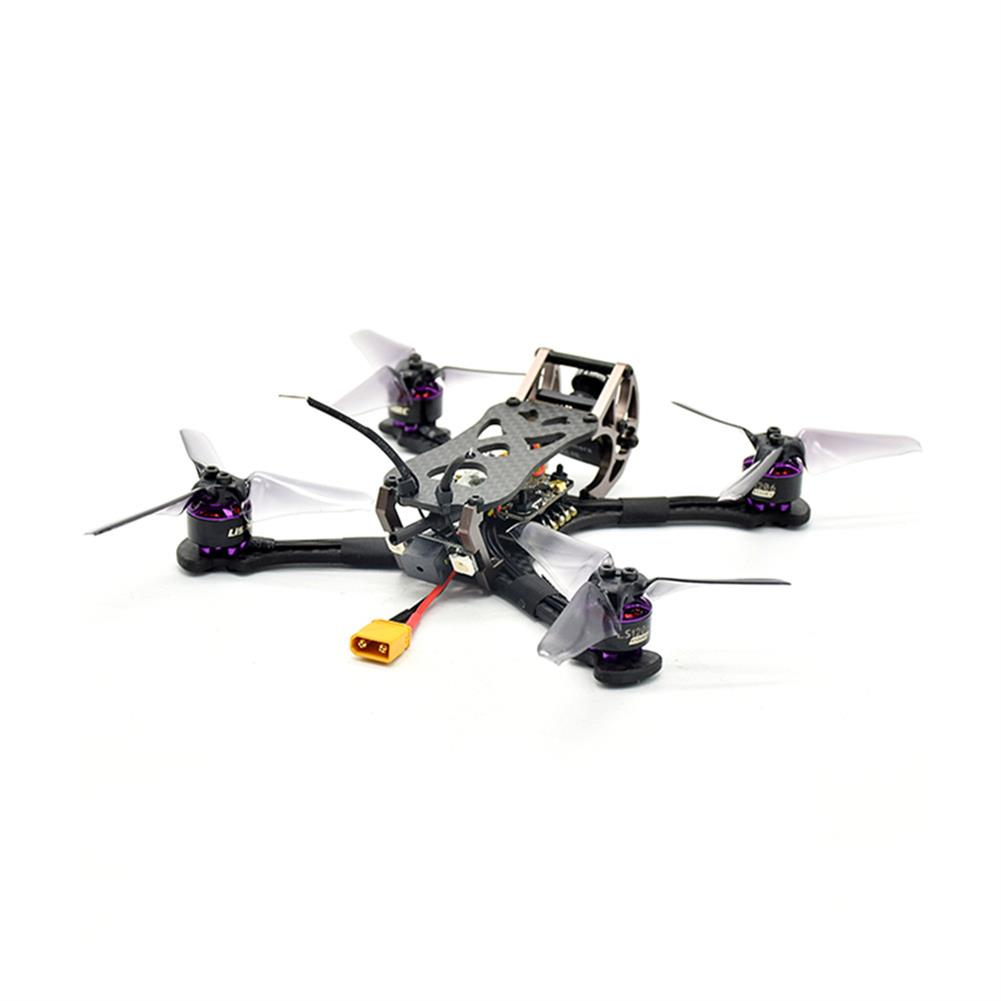 fpv-racing-drones LISAMRC LS-X140 140mm RC FPV Racing Drone F4 OSD BLHeli_S 28A Mini CCD 650TVL PNP BNF RC1331471 1