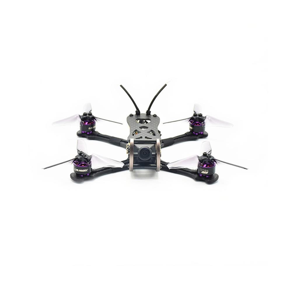 fpv-racing-drones LISAMRC LS-X140 140mm RC FPV Racing Drone F4 OSD BLHeli_S 28A Mini CCD 650TVL PNP BNF RC1331471 2