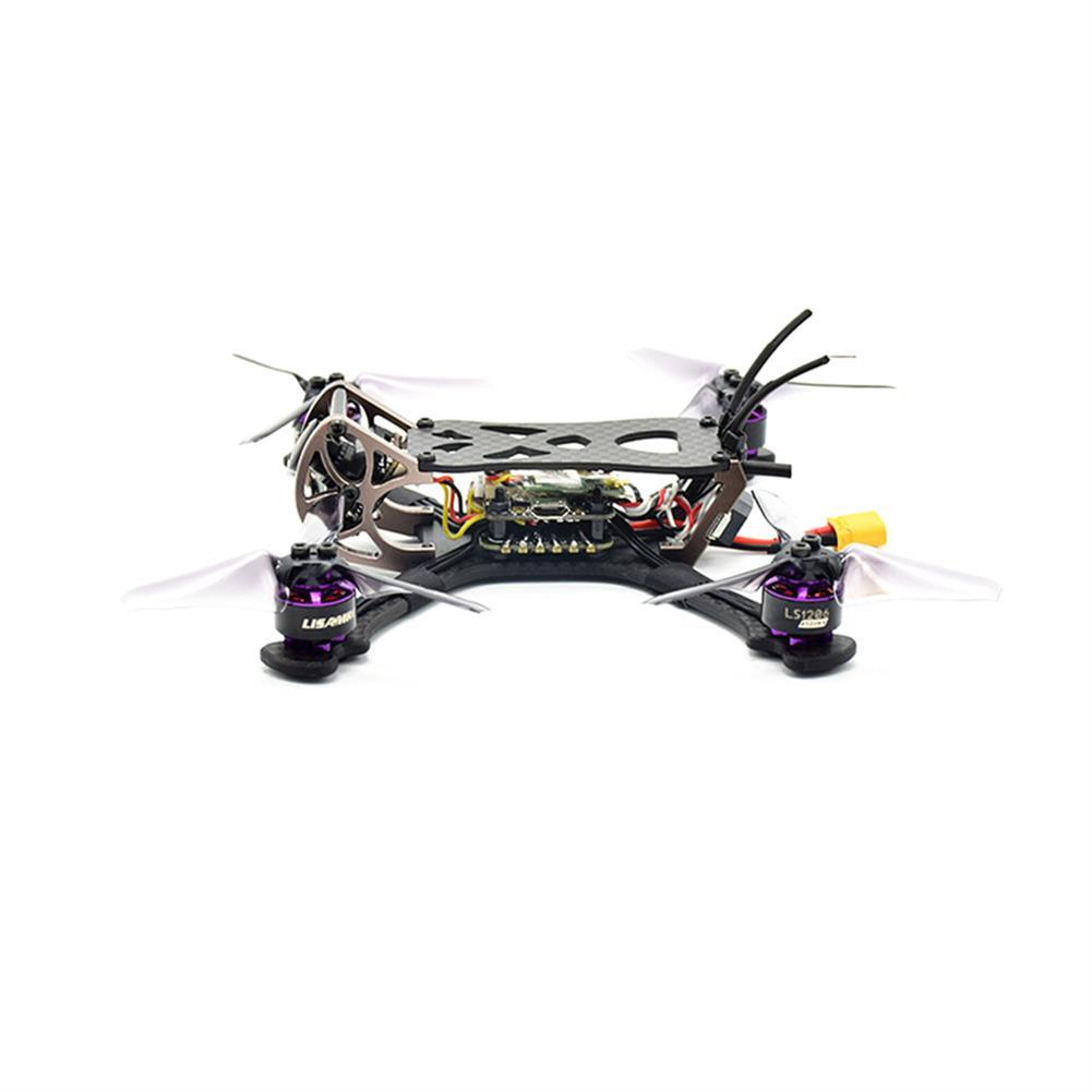 fpv-racing-drones LISAMRC LS-X140 140mm RC FPV Racing Drone F4 OSD BLHeli_S 28A Mini CCD 650TVL PNP BNF RC1331471 3