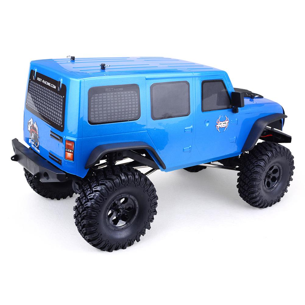 rc-cars RGT EX86100 1/10 2.4G 4WD 510mm Brushed Rc Car Off-road Monster Truck Rock Crawler RTR Toy RC1332171 1