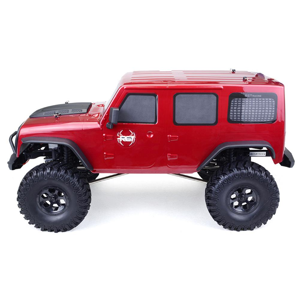 rc-cars RGT EX86100 1/10 2.4G 4WD 510mm Brushed Rc Car Off-road Monster Truck Rock Crawler RTR Toy RC1332171 3