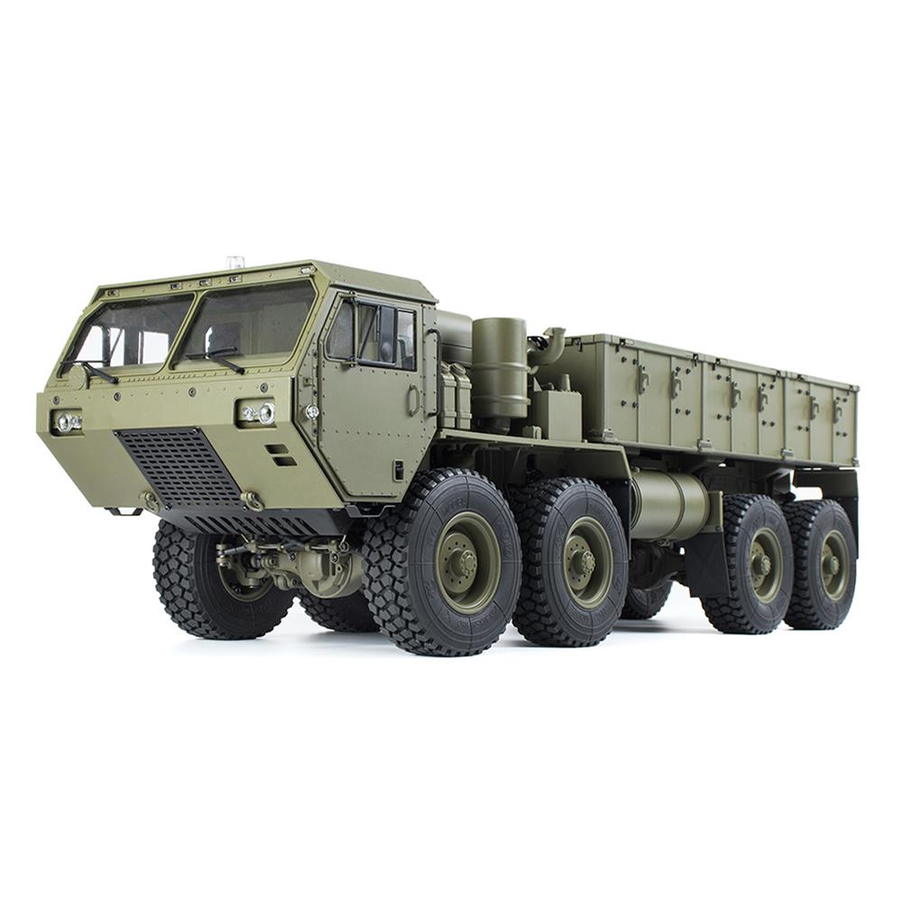 rc-cars HG P801 P802 1/12 2.4G 8X8 M983 739mm Rc Car US Army Military Truck Without Battery Charger RC1332230