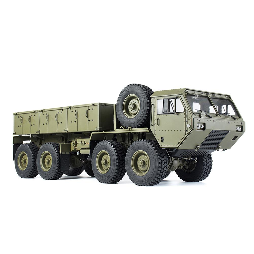 rc-cars HG P801 P802 1/12 2.4G 8X8 M983 739mm Rc Car US Army Military Truck Without Battery Charger RC1332230 4