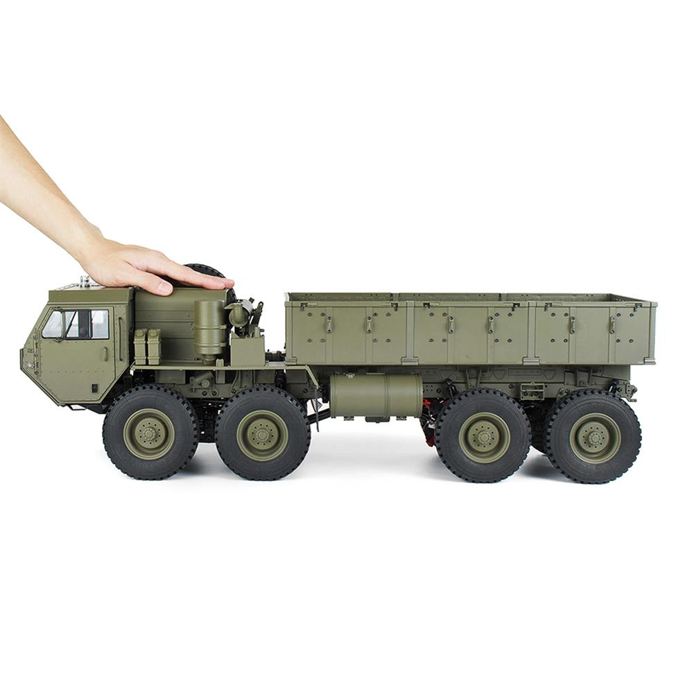 rc-cars HG P801 P802 1/12 2.4G 8X8 M983 739mm Rc Car US Army Military Truck Without Battery Charger RC1332230 5