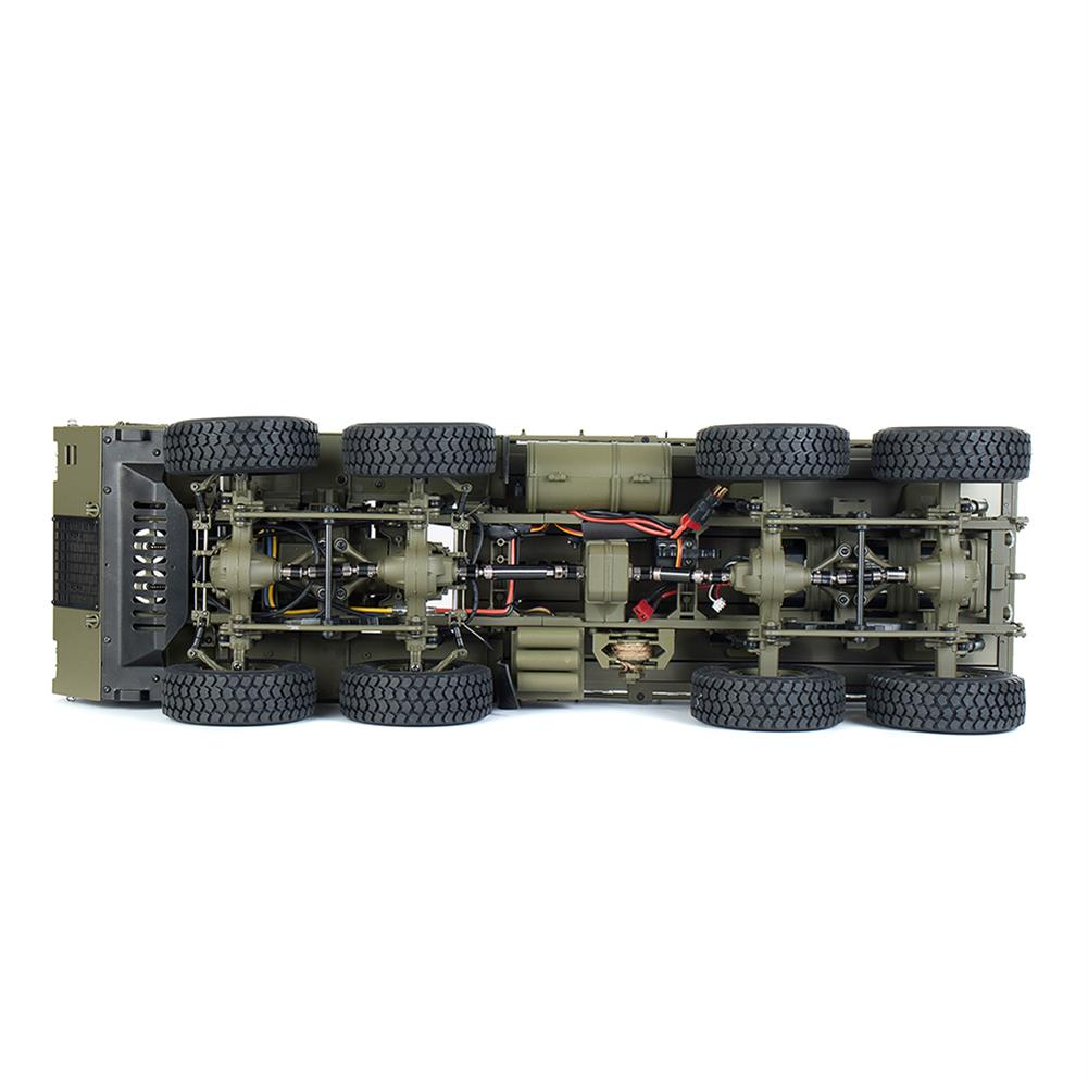 rc-cars HG P801 P802 1/12 2.4G 8X8 M983 739mm Rc Car US Army Military Truck Without Battery Charger RC1332230 6