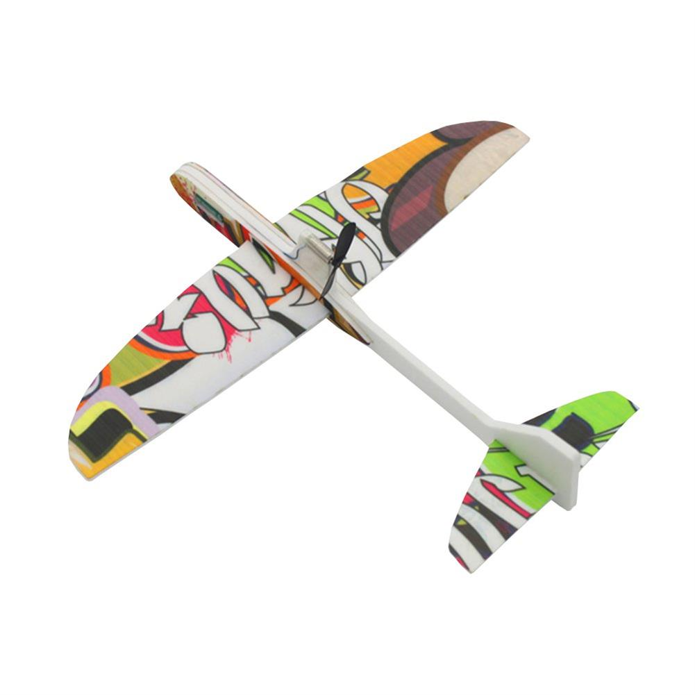 rc-airplanes 290mm Wingspan PP Material Electric Capacitor Hand Throwing Free-flying Glider DIY Airplane Model RC1336852 4