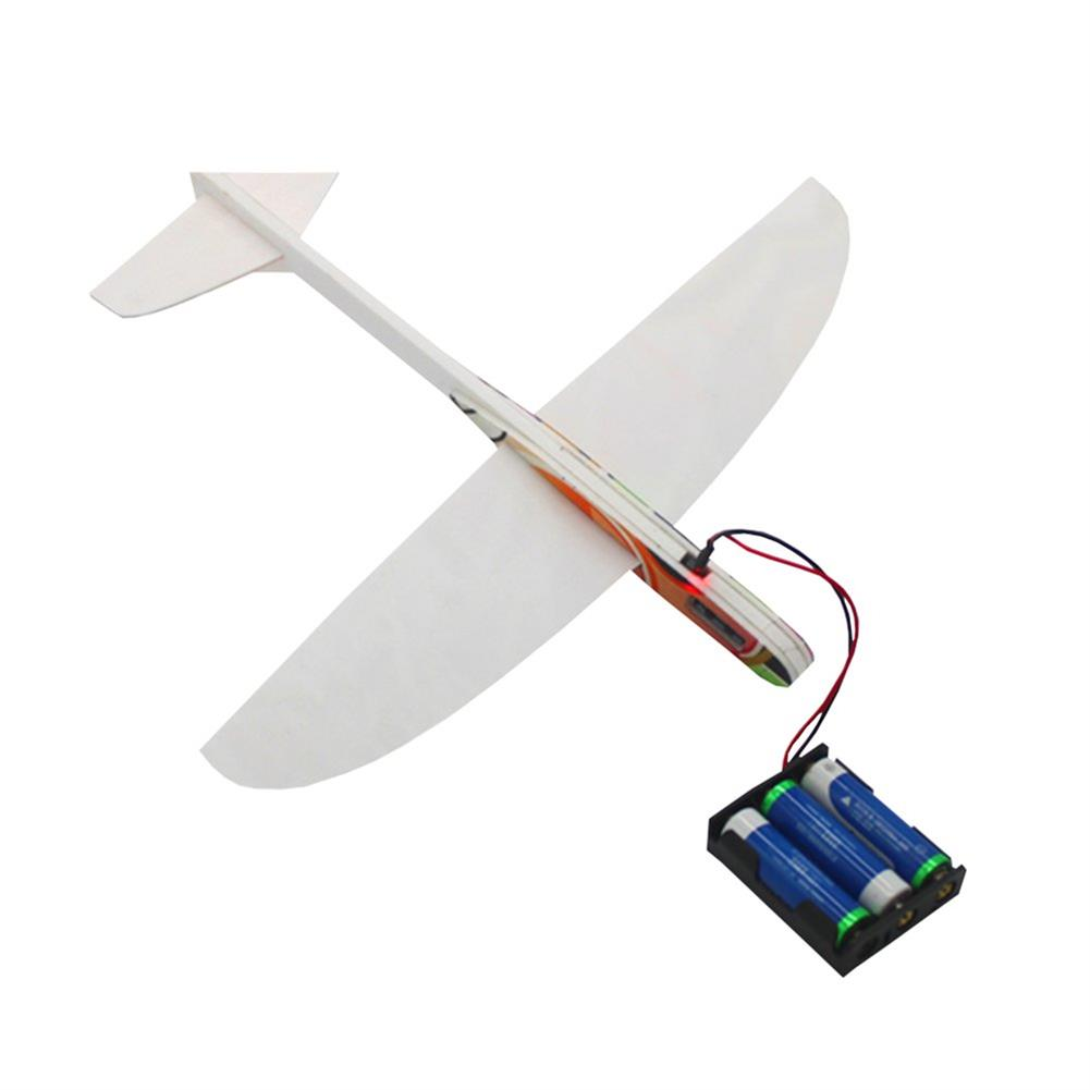 rc-airplanes 290mm Wingspan PP Material Electric Capacitor Hand Throwing Free-flying Glider DIY Airplane Model RC1336852 5