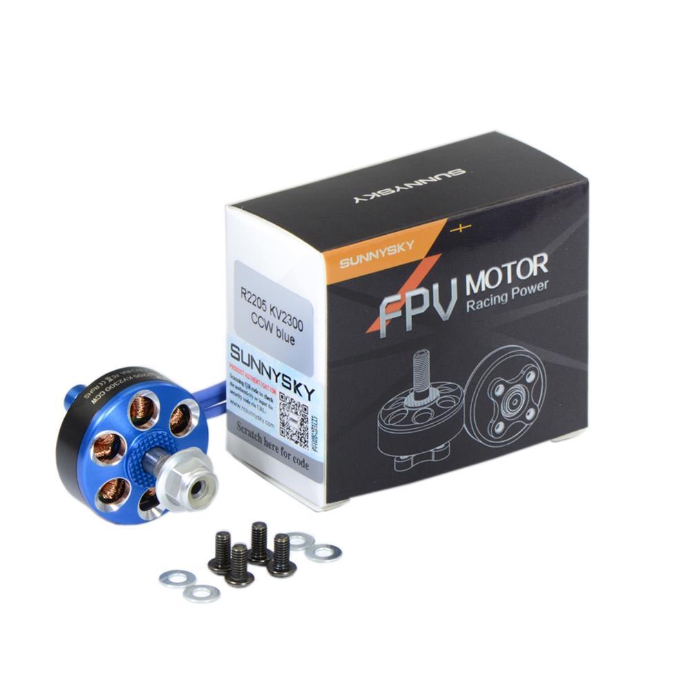 multi-rotor-parts Sunnysky R2205 2205 Brushless Motor 2300KV 2500KV 3-4S For RC Drone FPV Racing Multi Rotor RC1337301 4