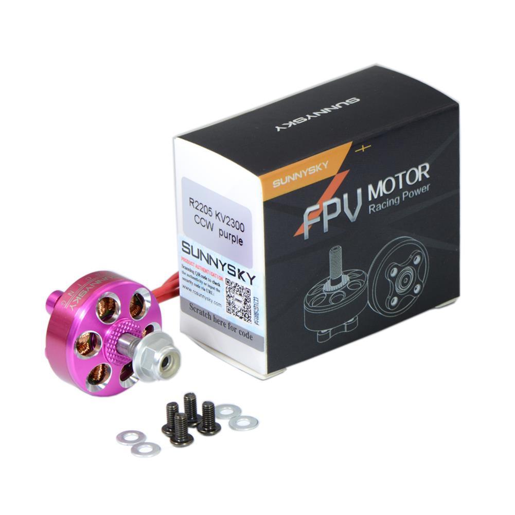 multi-rotor-parts Sunnysky R2205 2205 Brushless Motor 2300KV 2500KV 3-4S For RC Drone FPV Racing Multi Rotor RC1337301 9