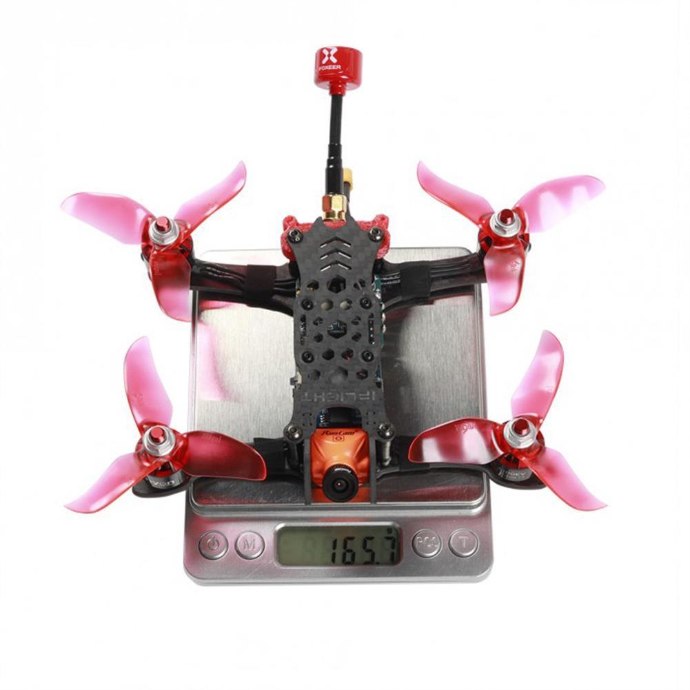 fpv-racing-drones iFlight iH3 Pro 3 inch FPV Racing Drone BNF F4 25A 4 in 1 ESC Flytower 48CH 0/25/100/200mW VTX RC1338220 4