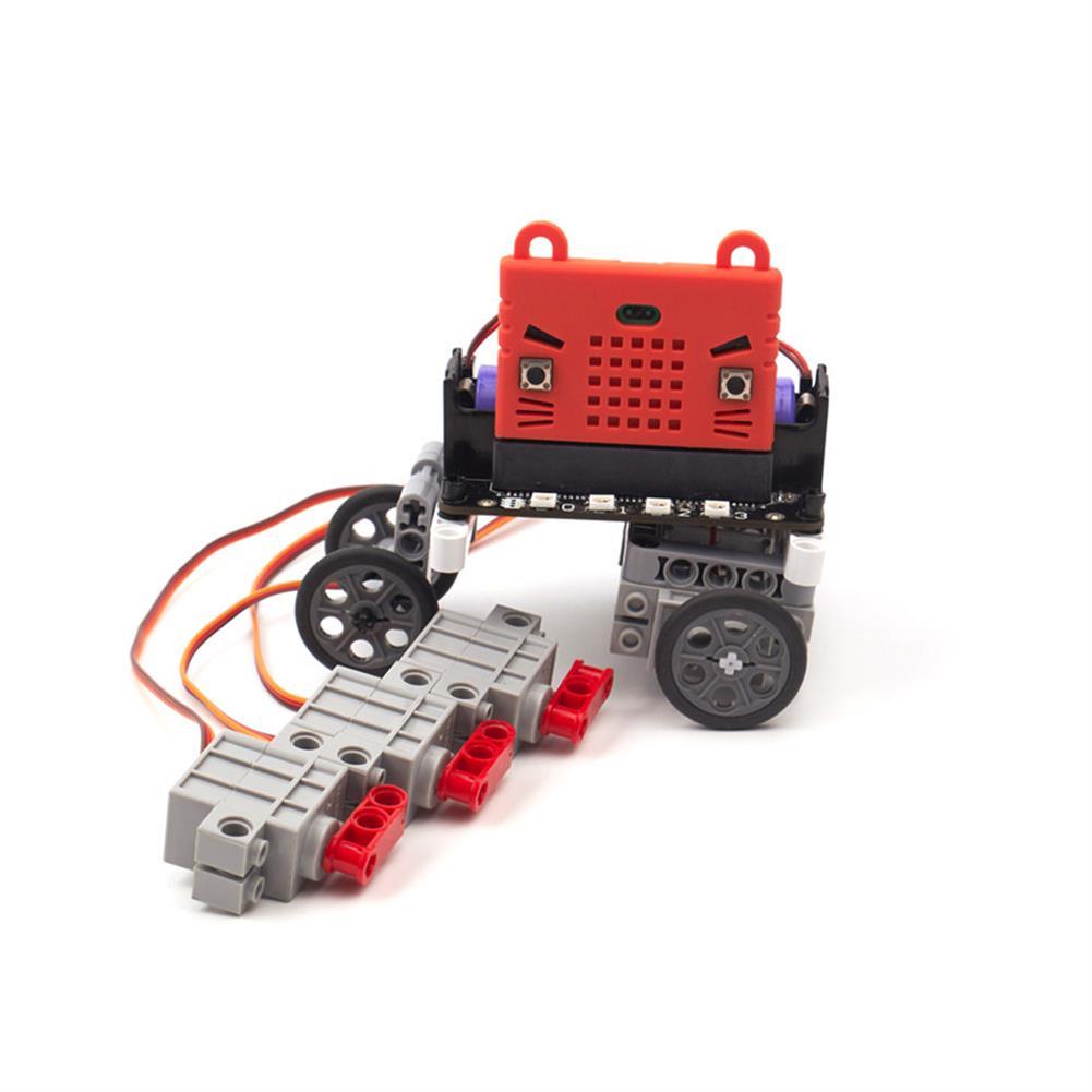 rc-servos 4PCS Microbit Robotbit Geek Servo Motor 270 Degree Rotation for LEGO RC Robot RC1338531