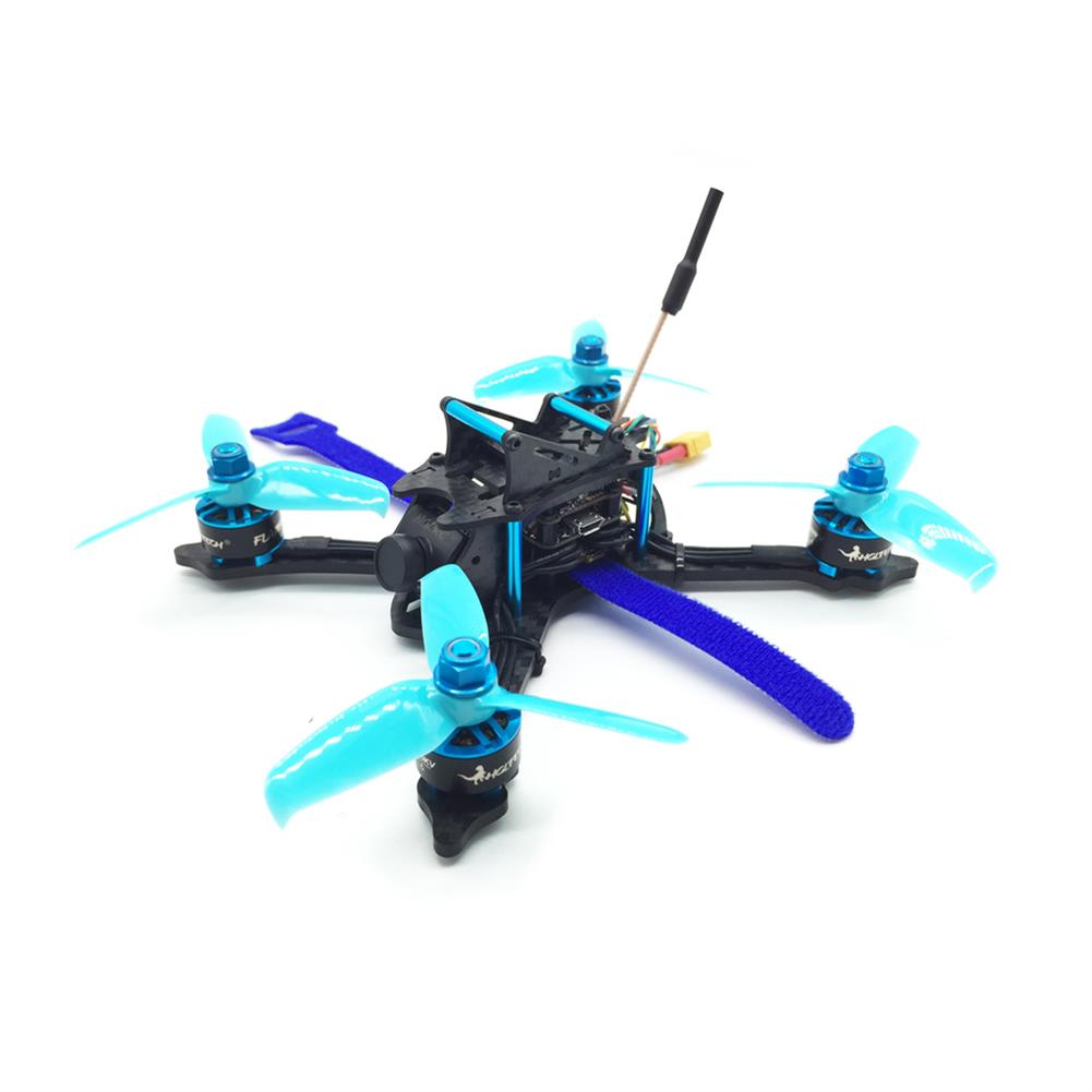 fpv-racing-drones HGLRC XJB-145MM FPV Racing Drone BNF Compatible FrSky XM+ Receiver Omnibus F4 28A 2-4S Blheli_S ESC RC1342752 1