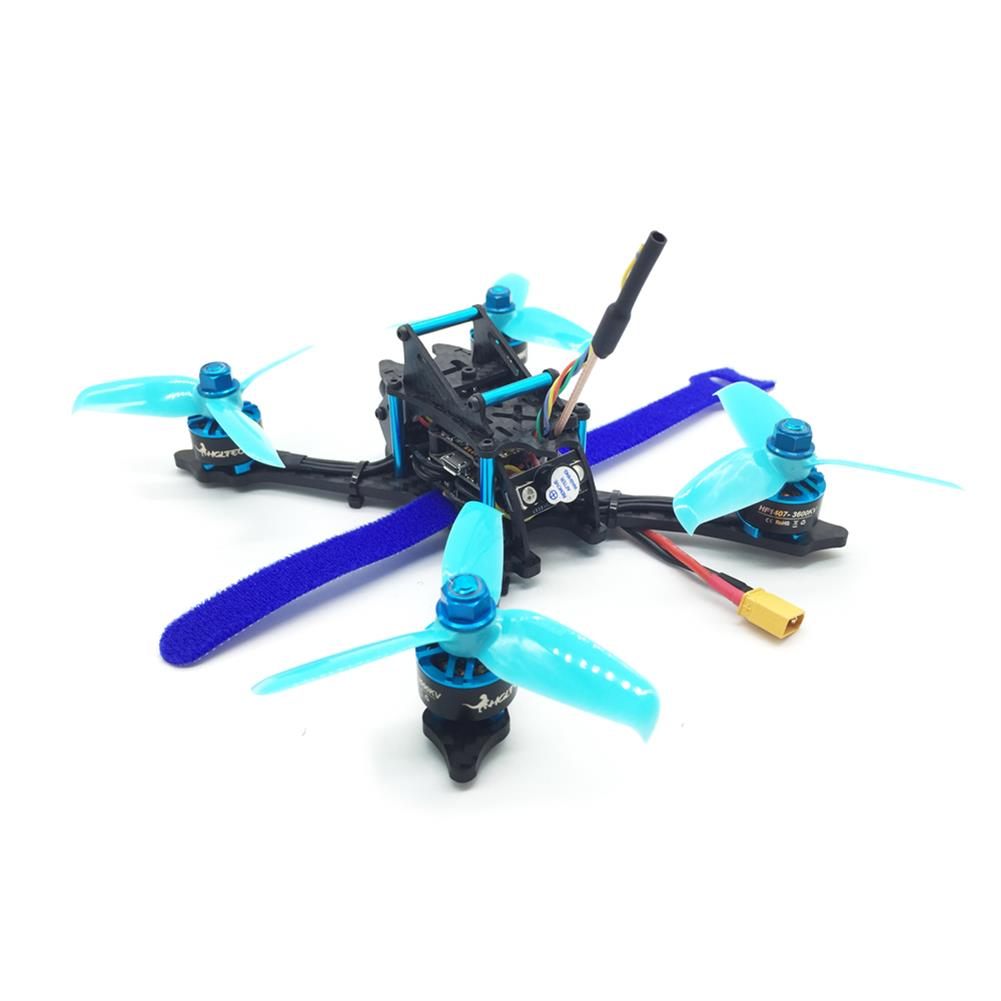 fpv-racing-drones HGLRC XJB-145MM FPV Racing Drone BNF Compatible FrSky XM+ Receiver Omnibus F4 28A 2-4S Blheli_S ESC RC1342752 4