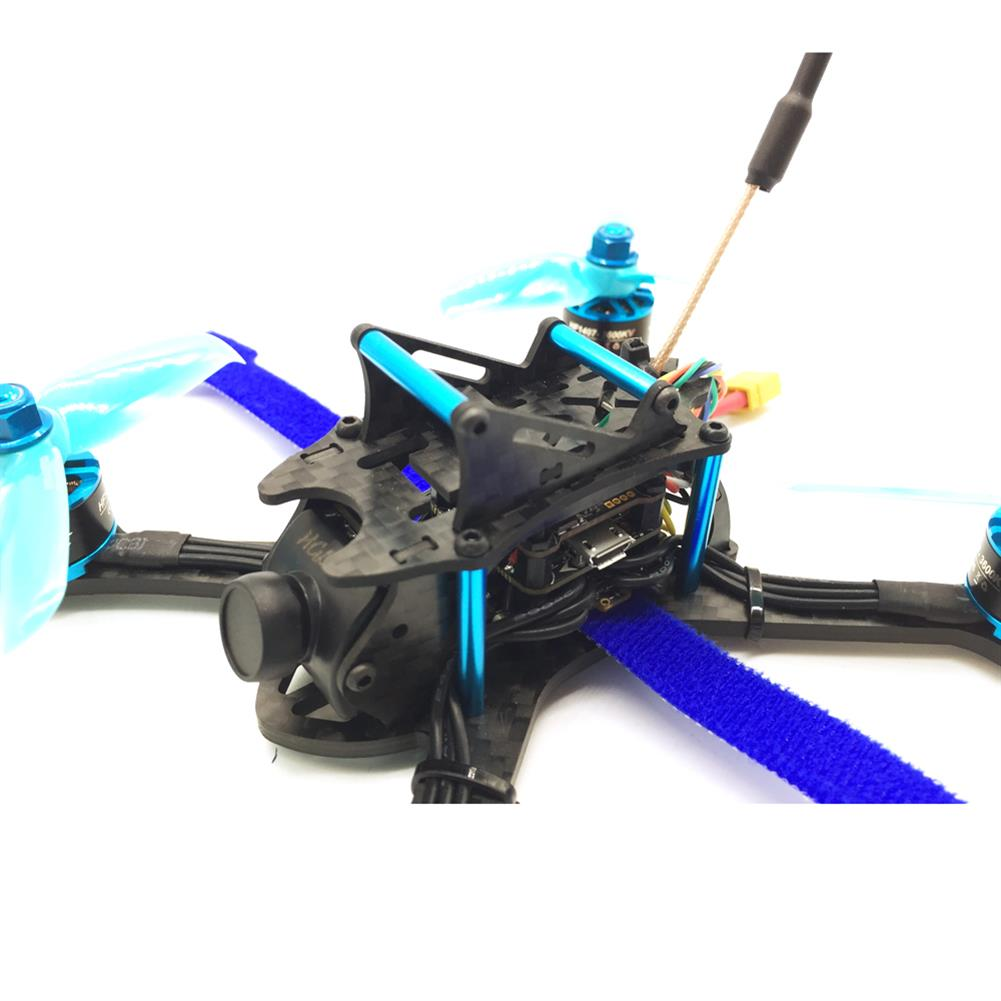fpv-racing-drones HGLRC XJB-145MM FPV Racing Drone BNF Compatible FrSky XM+ Receiver Omnibus F4 28A 2-4S Blheli_S ESC RC1342752 5