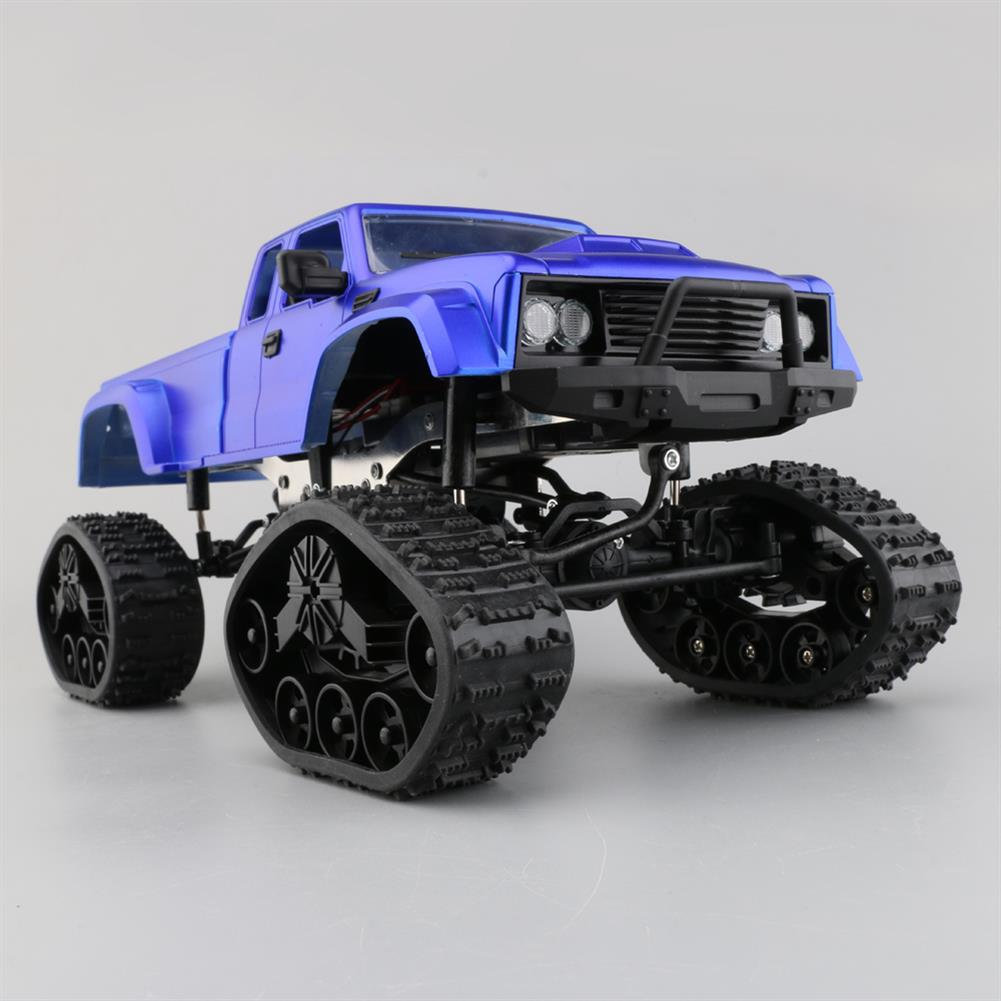 rc-cars Fayee FY002B 1/16 2.4G 4WD Rc Car Military Truck Track Wheel W/ Front LED Light RTR Toy RC1347914 5