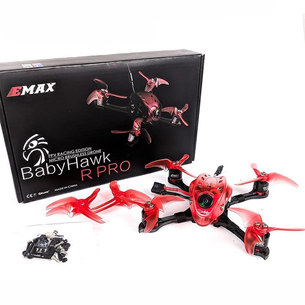 fpv-racing-drones Emax Babyhawk R Pro 2.5 Inch 120mm FPV Racing Drone PNP/BNF Magnum F4 25A Blheli_32 Smart Audio VTX RC1348185 4