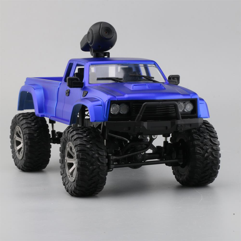 rc-cars Fayee FY002A 1/16 2.4G 4WD Rc Car 720P HD WIFI FPV Off-road Military Truck W/LED Light RTR Toy RC1348381 1