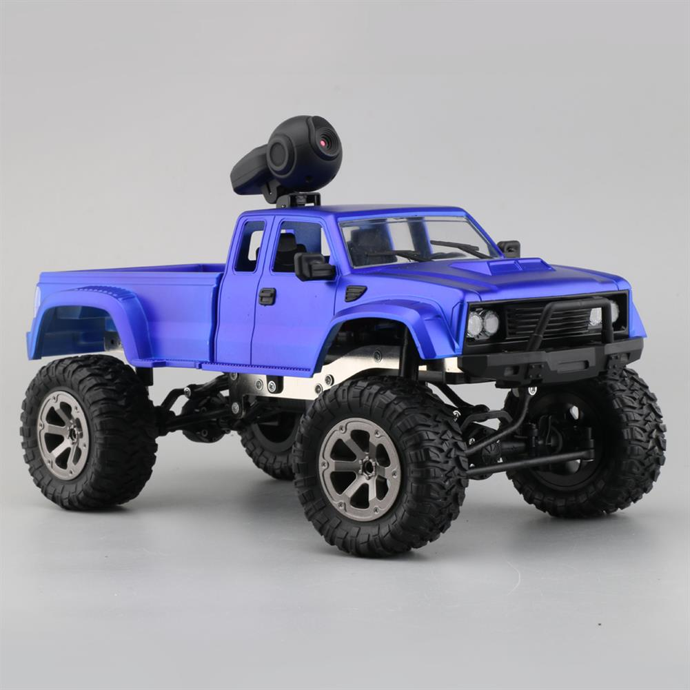 rc-cars Fayee FY002A 1/16 2.4G 4WD Rc Car 720P HD WIFI FPV Off-road Military Truck W/LED Light RTR Toy RC1348381 2