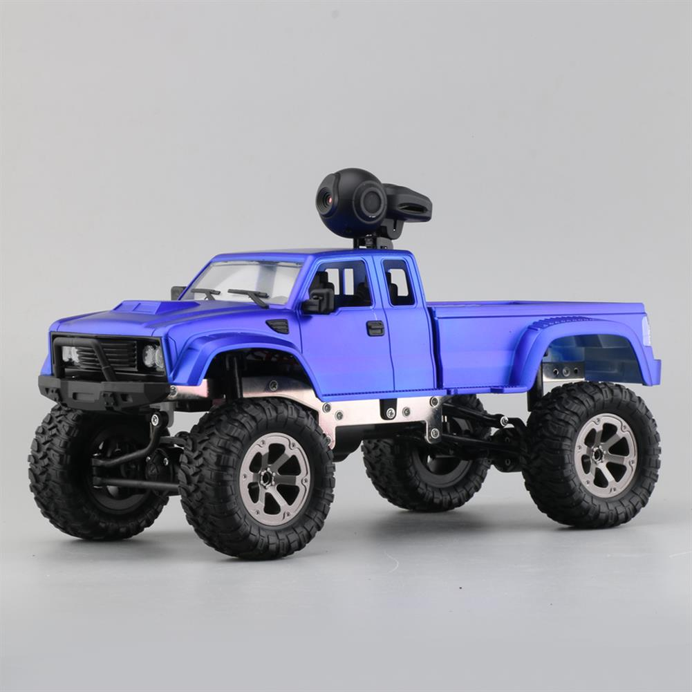 rc-cars Fayee FY002A 1/16 2.4G 4WD Rc Car 720P HD WIFI FPV Off-road Military Truck W/LED Light RTR Toy RC1348381 3