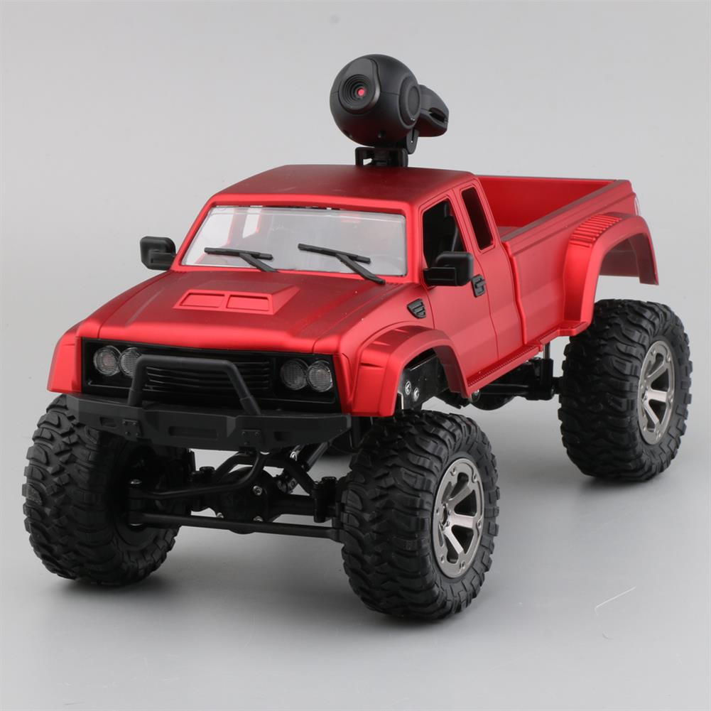 rc-cars Fayee FY002A 1/16 2.4G 4WD Rc Car 720P HD WIFI FPV Off-road Military Truck W/LED Light RTR Toy RC1348381 4